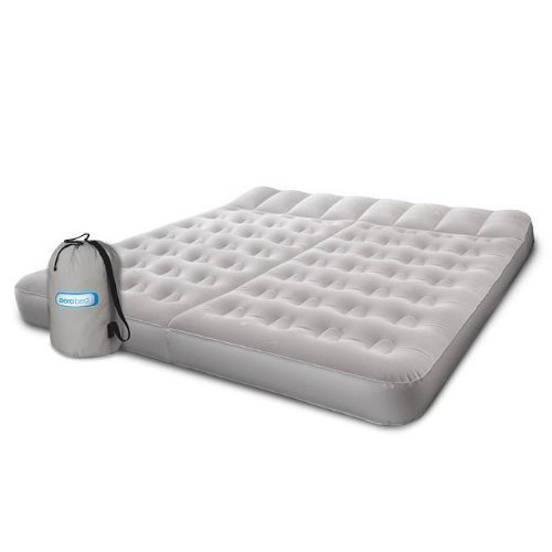 Aerobed 07514 King Sleep Basics Inflatable Air Mattress Bed with Two Zones