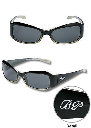 Baby Phat 2017 Black Plastic Logo Sunglasses
