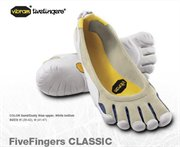 VIBRAM FIVEFINGERS CLASSIC Sand/Dusty Blue/White Men 41: 7960500034 gotyourgear :  shoes men fashion hiking