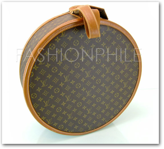 French Company Louis Vuitton Hat Box