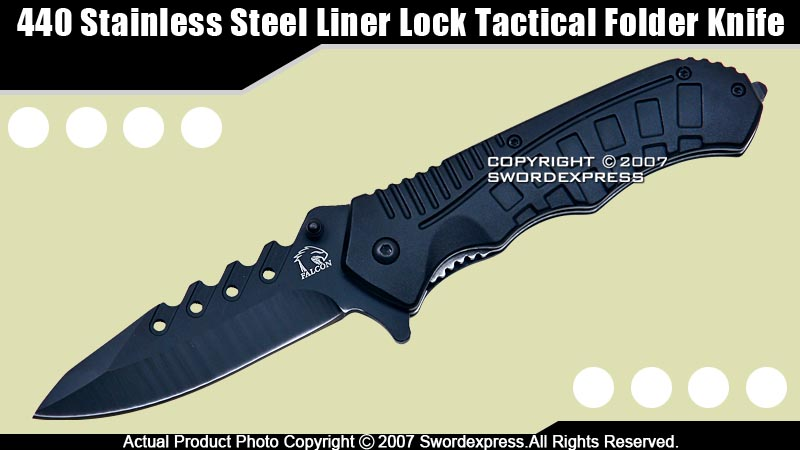 Falcon Spring Assisted Folding Knife Pocket Folder BK