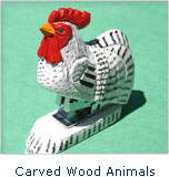 Carved Wood Animals