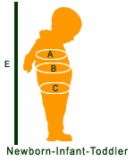 Block Buster Costumes Infant Size Chart Image
