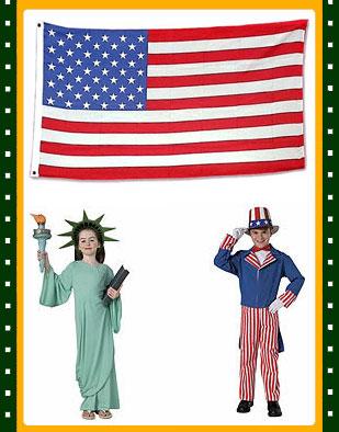 美国国旗图片简笔画内容图片展示