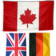 National Country Flags Flagpoles