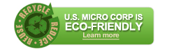 US Micro Is Eco-Friendly