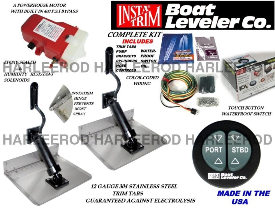 Instatrim boating marine trim tab kit page 1 iboats for Outboard motor trim tab