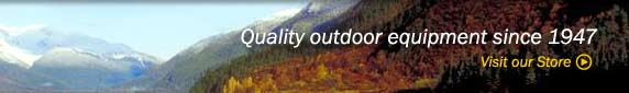 Quality outdoor equipment since 1947. visit our store