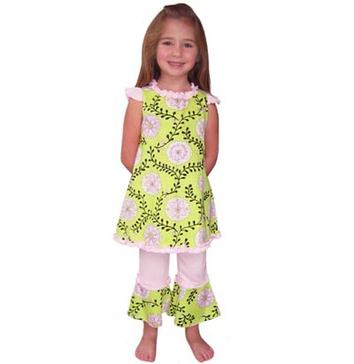 Boutique Clothing Lines on Baby Girls 2 3t Boutique Zebra Polka Dot