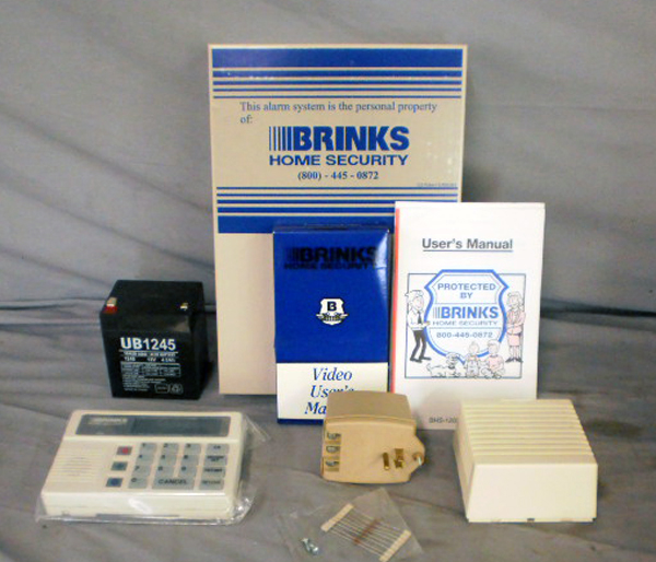 Brinks home security bhs 2000d system keypad alarm for Brinks home security