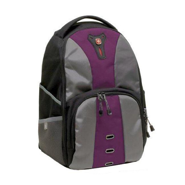 swiss gear jasper notebook computer backpack purple 80 ebay