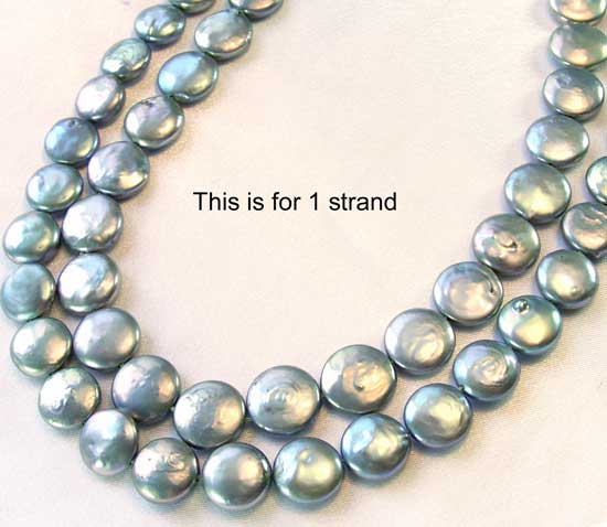 platinum fw coin pearls