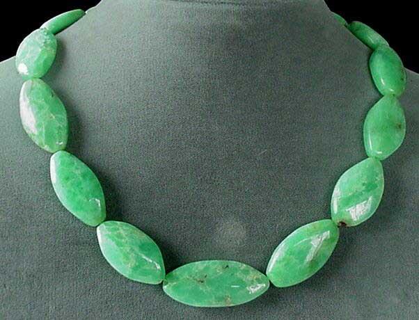 natural chyrsoprase beads