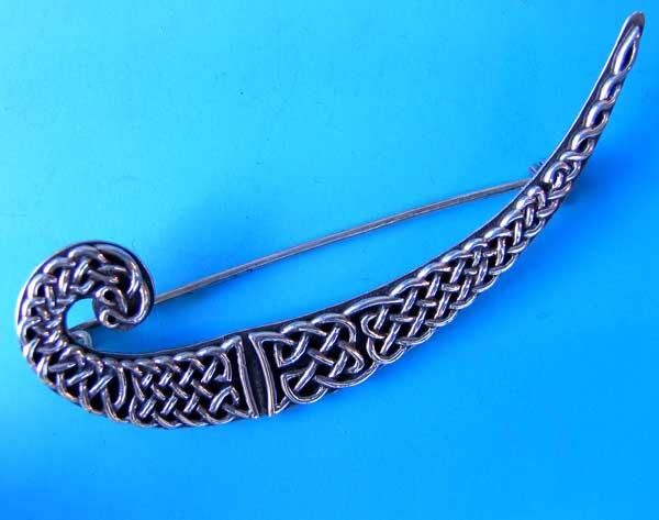 sterling celtic knot brooch pin