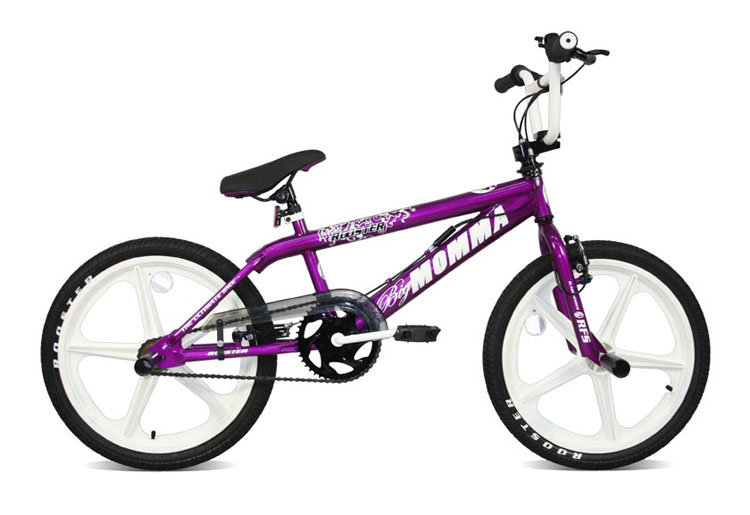 Skyway BMX Bikes http://www.ebay.co.uk/itm/Rooster-Big-Momma-White-Skyway-Mag-Purple-BMX-Bike-/390274076151
