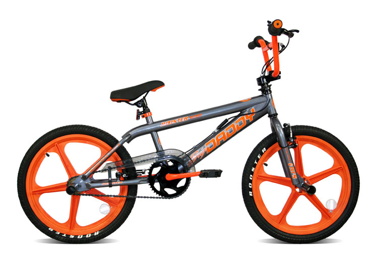 Skyway BMX Bikes http://www.ebay.co.uk/itm/Rooster-Big-Daddy-Orange-Skyway-Mag-BMX-Bike-/390274065876