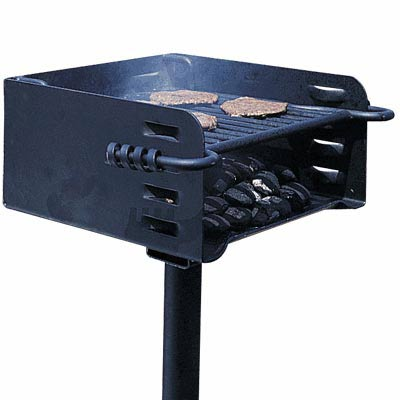 heavy duty park style charcoal grill new ebay. Black Bedroom Furniture Sets. Home Design Ideas