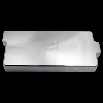 2005 2009 mustang gt gt500 billet fuse box cover polished. Black Bedroom Furniture Sets. Home Design Ideas