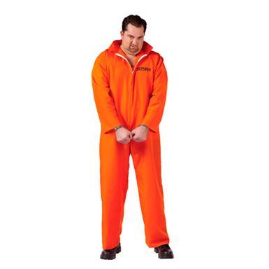 Orange Inmate Big Amp Tall Mens Halloween Costumes Ebay
