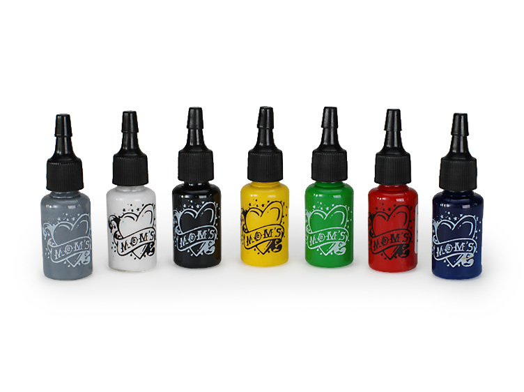 MOM's Millennium Colorworks Tattoo Ink offered by Tattoo Parts USA