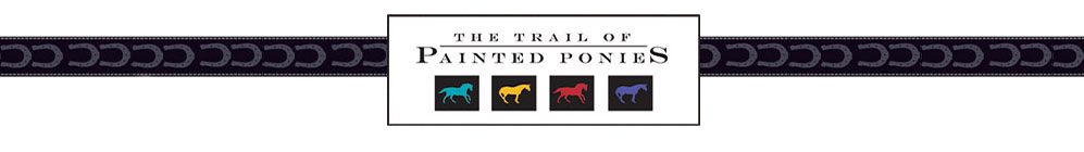 The Trail of Painted Ponies by Enesco