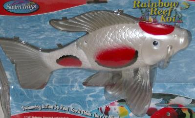 Swim ways rainbow reef koi fish swimming pool toy ebay Koi fish swimming pool