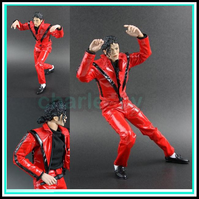 Michael Jackson Figurines TY-CLOTH-MJTRILLER-1