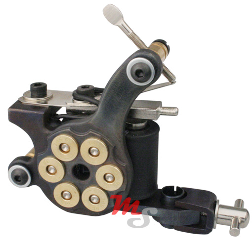 38 Special Revolver TATTOO Machine Cast Iron Liner H8