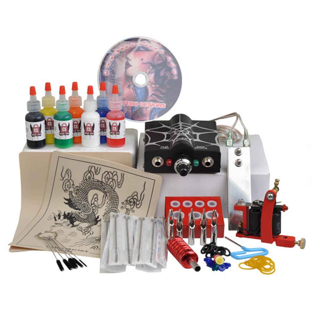 Tattoo gun starter kit for Starter tattoo kits