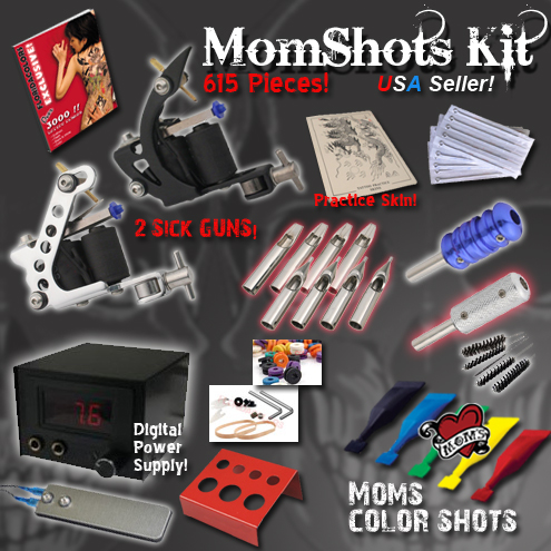 There are many professional tattoo kits sold at Getbetterlife.com.