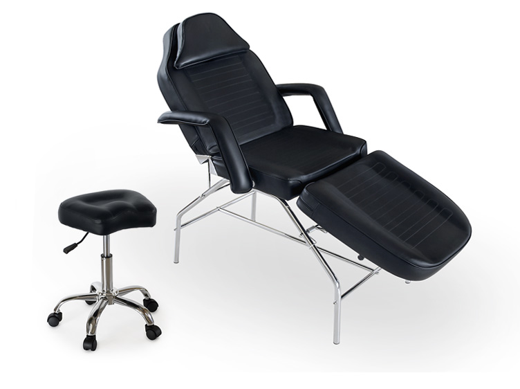 Beauty Salon Tattoo Shop Facial Bed Massage Table Black - eBay (item