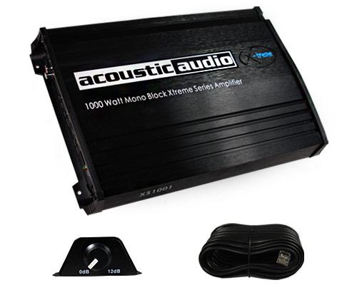 Acoustic audio amplifier