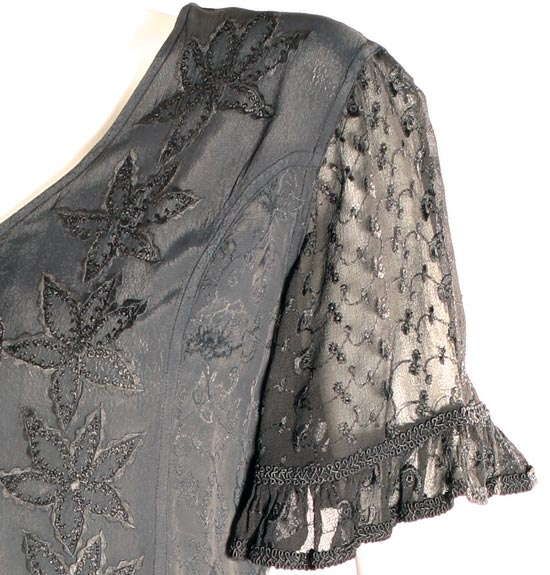 Vevina Chiffon Gypsy Victorian Top HolyClothing.com: Handmade Women's Clothing & Fashion. Dresses, Tops, Skirts, Blouses and Pants in Women's and Plus Sizes. :  tops embroidered trim vevina renaissance