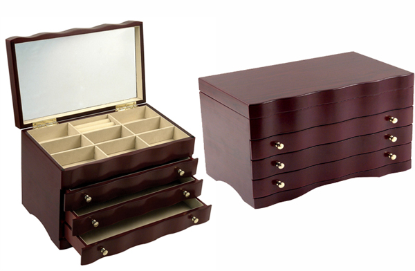 wooden jewelry box