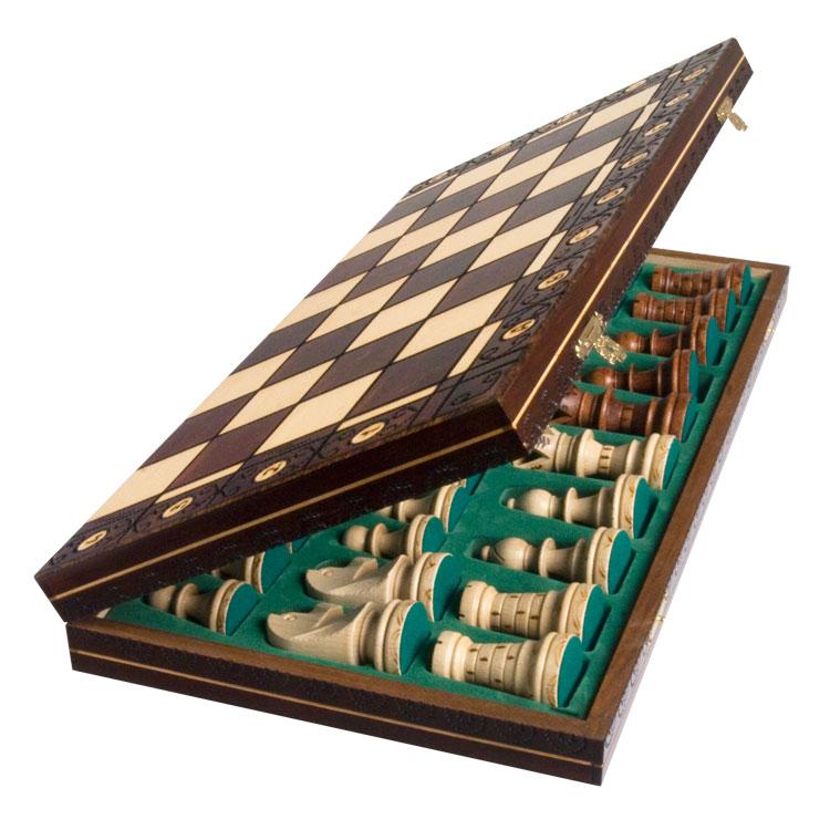 39 39 ambassador 39 39 european wooden international chess set ebay - Nice wooden chess set ...