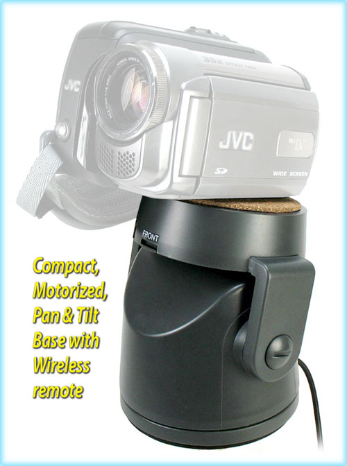 Motorized pan and tilt head w remote for video cameras ebay for Pan and tilt head motorized