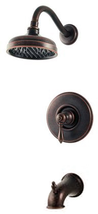 Price Pfister Rustic Bronze Shower Tub Faucet Trim Only Ebay
