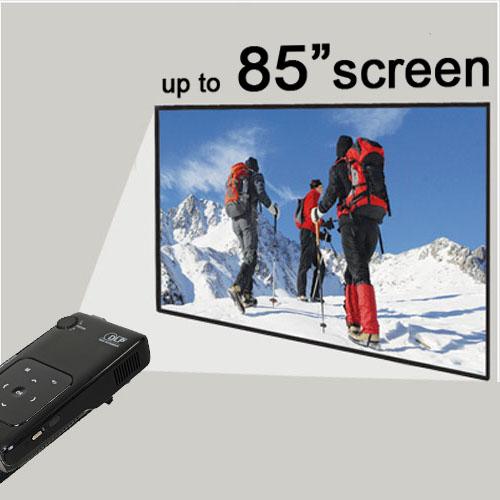 Aiptek pocketcinema v50 pico projector dlp 50 lumens ebay for Miroir wvga dlp pico pocket projector