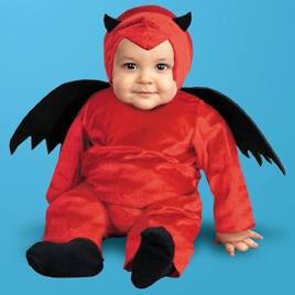 Adult Halloween Costume Maternity Pregnant Devil Outfit