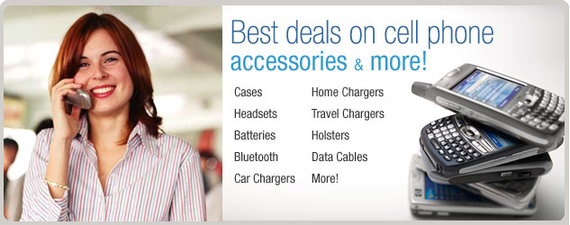 Best deals on cell phone accessories & more!