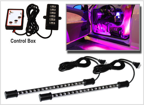 car interior neon lights ebay. Black Bedroom Furniture Sets. Home Design Ideas