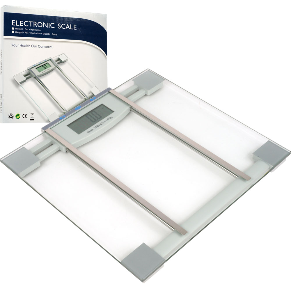 Digital Body Weight, Fat and Hydration Scale