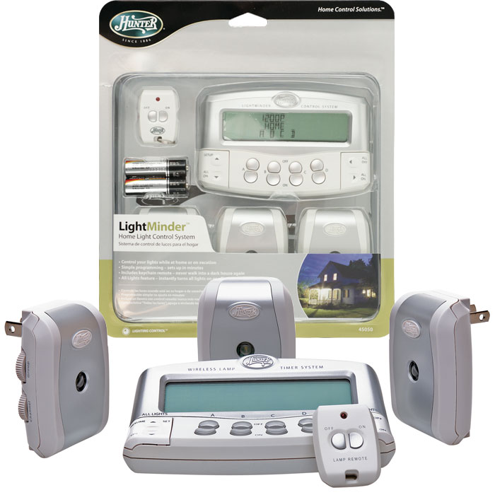 Home Light Control System With Remote Control By Hunter