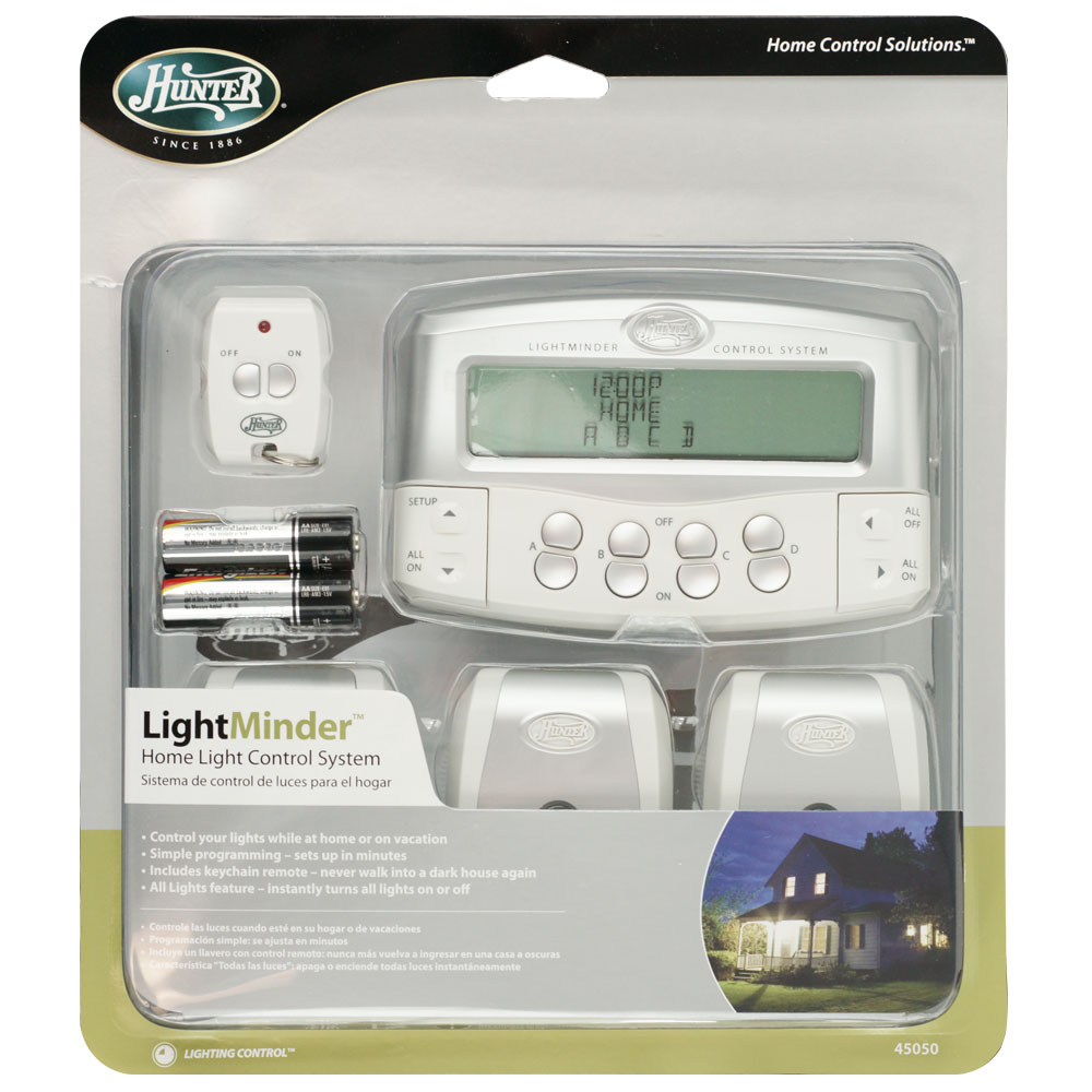 Home Lighting Controls: Home Light Control System With Remote Control By Hunter