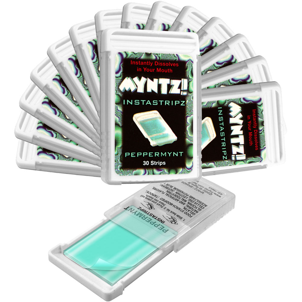 15 of Myntz Breath Strips