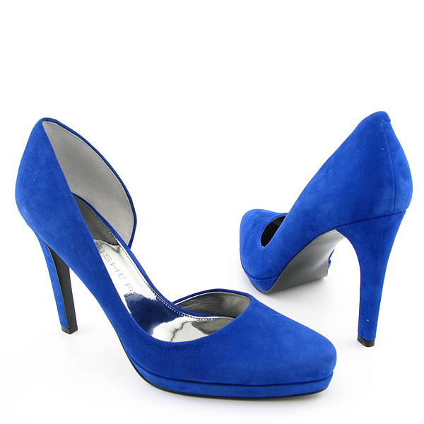 Marc Fisher Nayara Blue Shoes