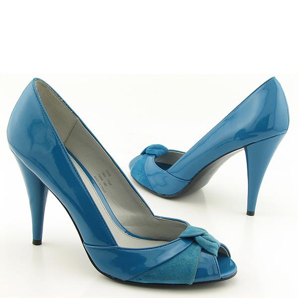 Calvine Klein CK Uma Blue Heels