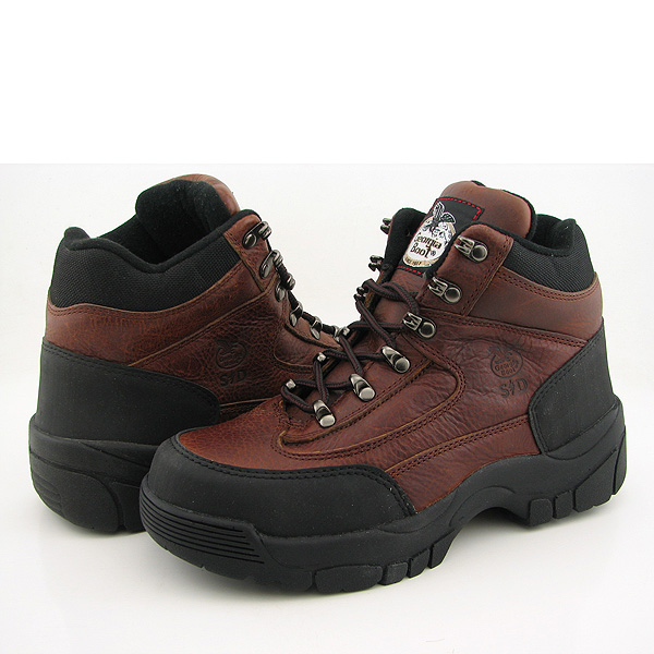 Post image for GEORGIA G7654 Safety Toe Hiker New Wide Boots Hiking Steel Toe Brown Mens