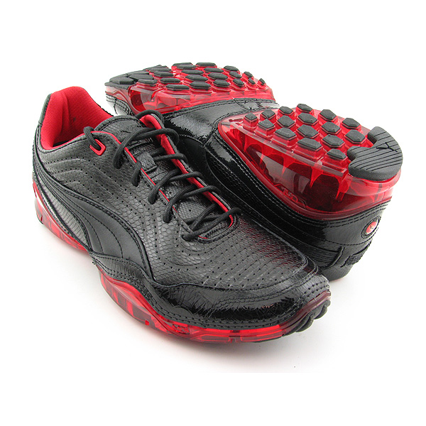 Puma Cell Meio L Black Running Shoes Womens Size 8.5