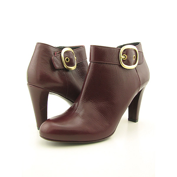 Post image for COACH Nicolete Boots Ankle Shoes Burgundy Womens